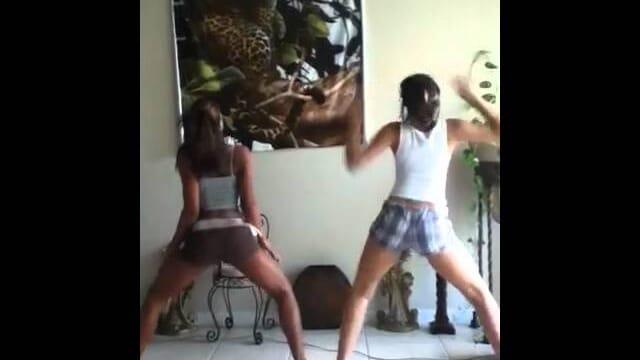 Yella And Manda Dancing To Aye Ladies